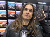 D'Addario: Kiko Loureiro mostra as cordas que usa em suas guitarras