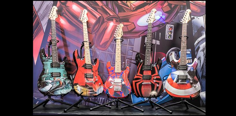 Guitarras Marvel, PHX: Ouça o som aqui