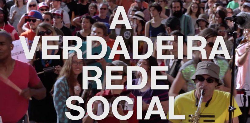 Campanha a favor da música mostra a verdadeira rede social