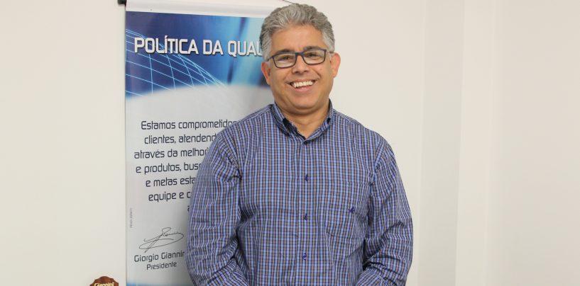 Giannini apresenta novo gerente comercial