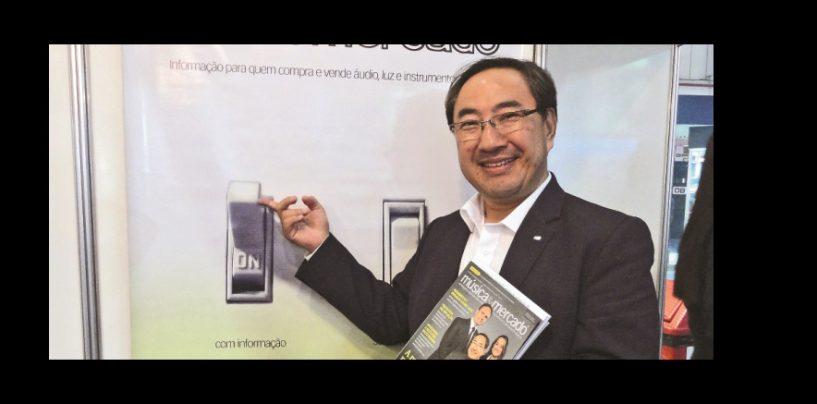 Roland Brasil: Entrevista com o CEO, Takao Shirahata
