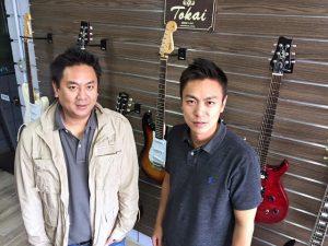 Juliano e Rodrigo Hayashida: parceria entre Tokai Brasil e Tokai Japão