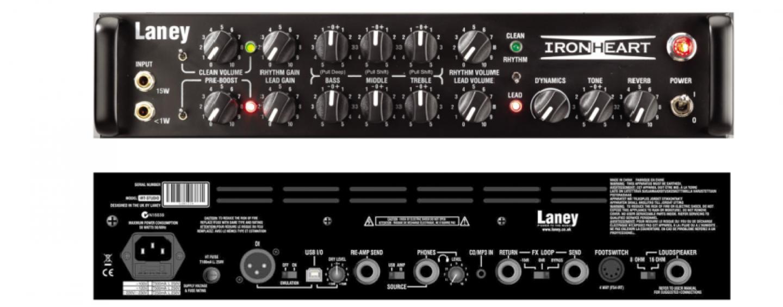 Amplificador valvulado: Novo Laney IRT Studio