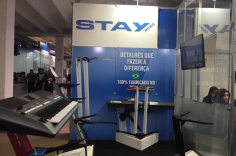 Expomusic: Stay Music suportes trouxe promoções e novas cores