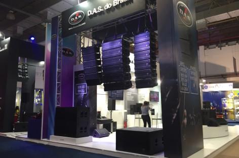 Expomusic: Lançamento da D.A.S Áudio do Brasil