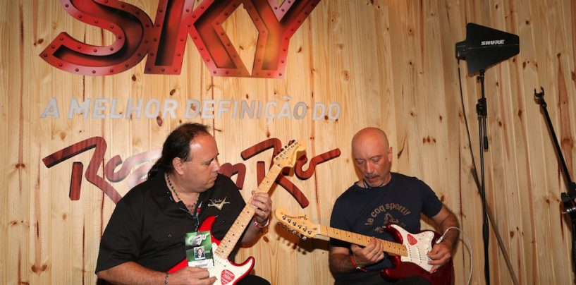 Fender fez guitarra especial no Rock in Rio