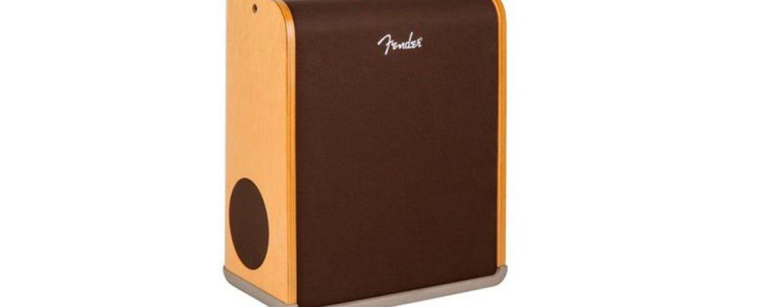 Novos amplificadores Acoustic Pro e SFX da Fender