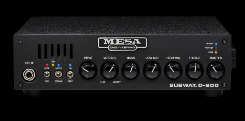 MESA Boogie apresenta amplificador Subway D-800