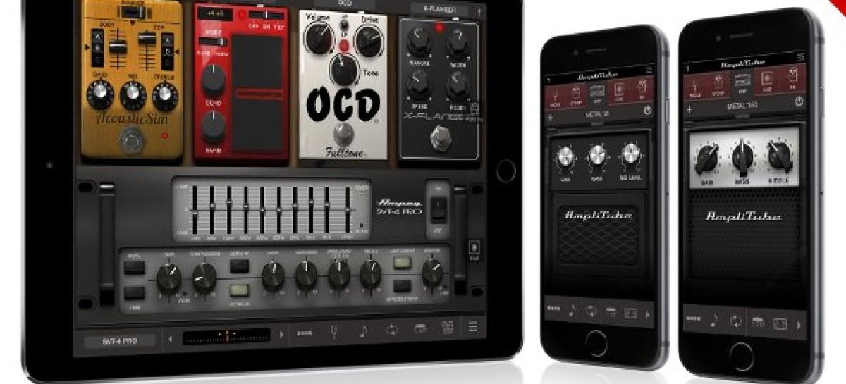 AmpliTube com mais equipamentos