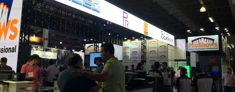 ProShows marcou presença na Expomusic 2015