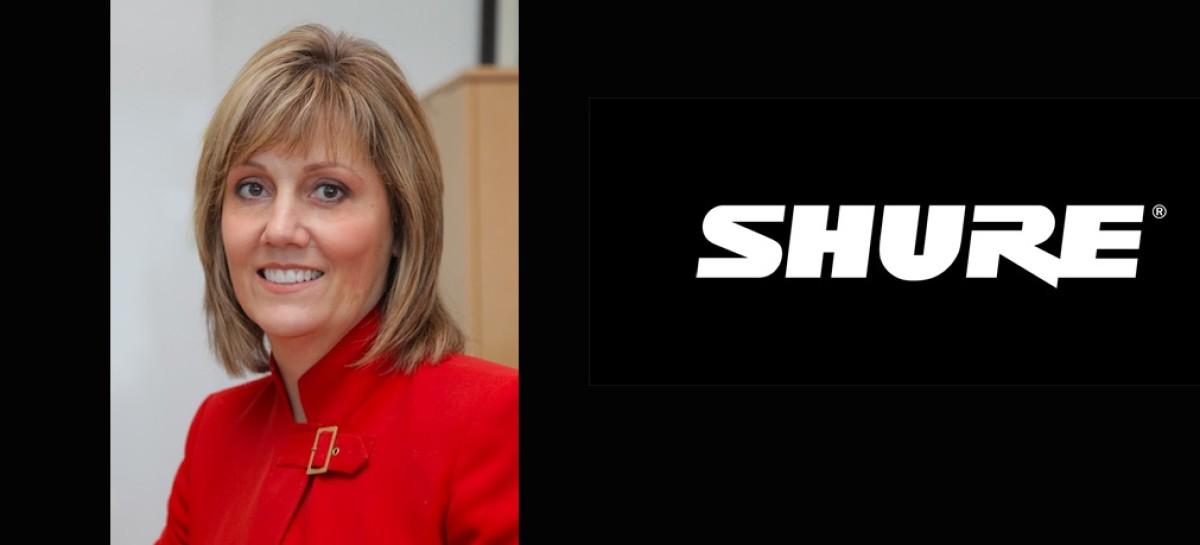 Shure terá nova presidente: Christine Schyvinck