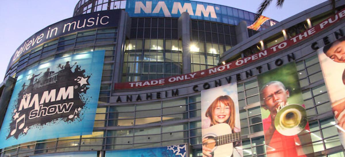 NAMM Show 2016 terá pavilhão promovido pela ANAFIMA e APEX Brasil