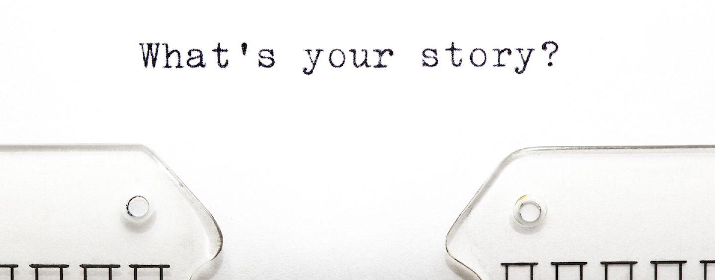 Você tem uma história para contar?