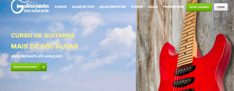 Guitarpedia oferece curso de guitarra online