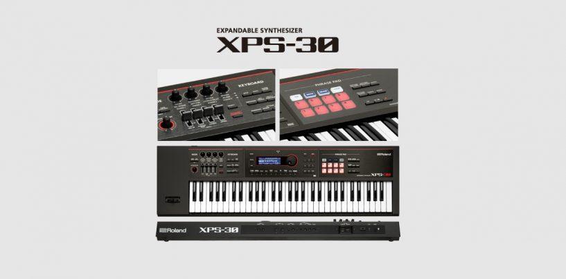 Roland apresenta o sintetizador expansível XPS-30