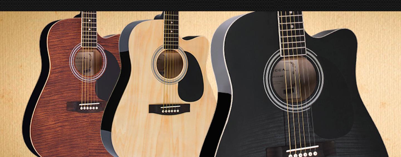 Conheça os violões elétricos Vogga VCK370