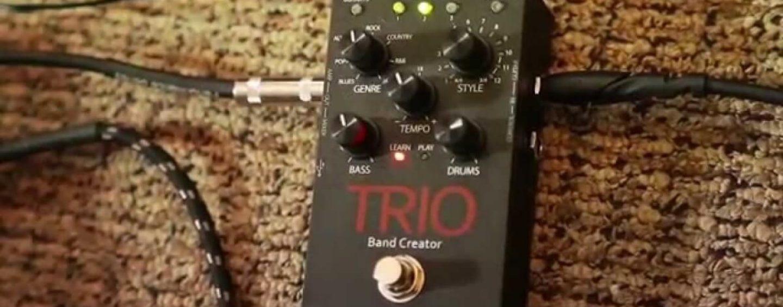 O poder de três em um só com o novo pedal DigiTech Trio