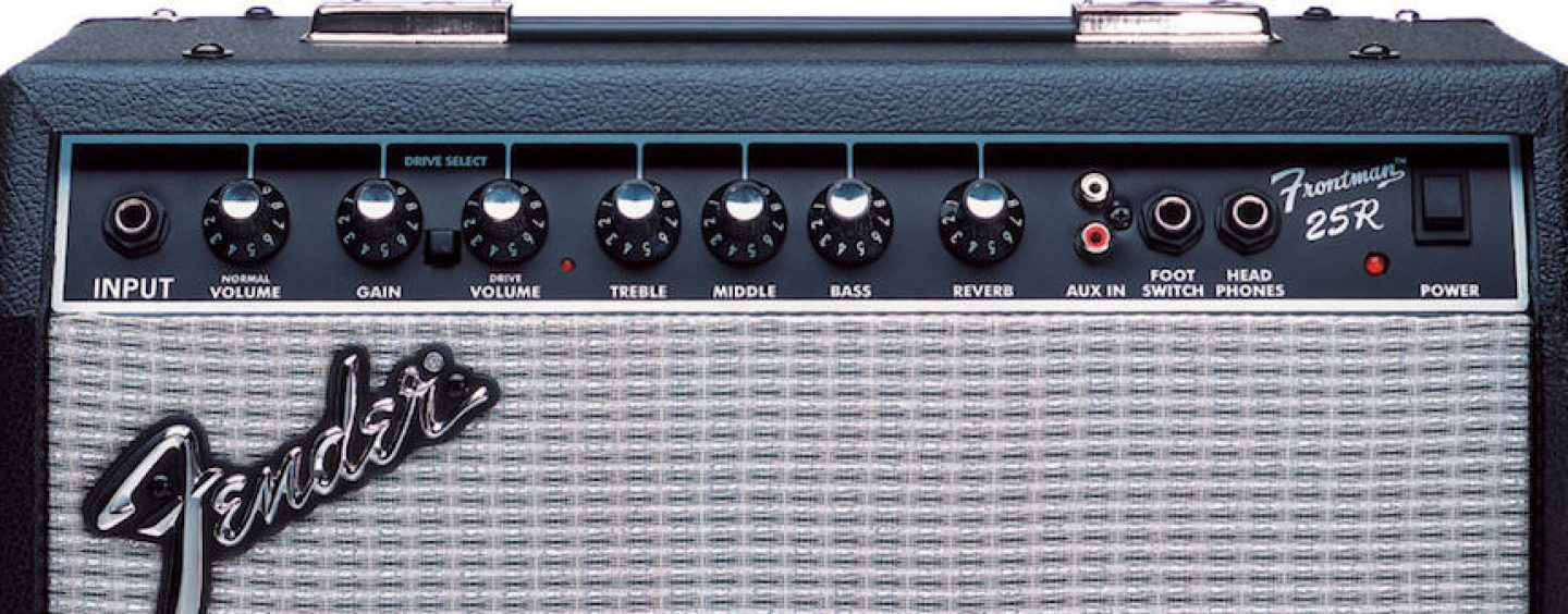 Review Fender Frontman 25r