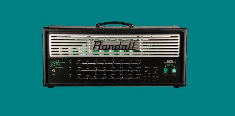 Randall traz o amplificador KH103 Kirk Hammett Signature