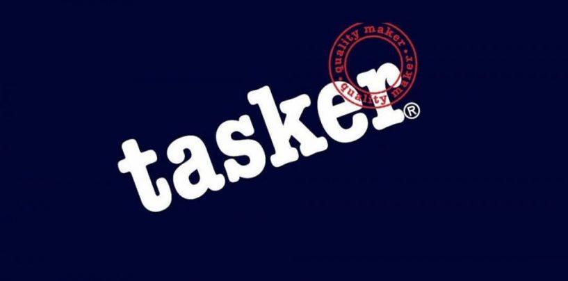 Tasker também faz cabos para o palco