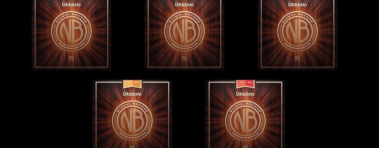 Pronto para as novas cordas D'Addario Nickel Bronze?