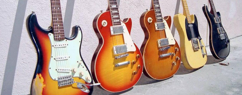 Guitarras Telecaster, Stratocaster e Les Paul: um papo sobre timbres