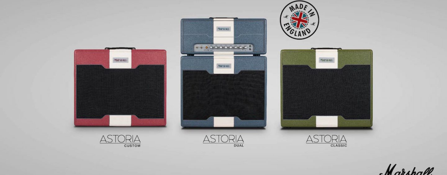 Proshows traz amplificadores Marshall Astoria Series