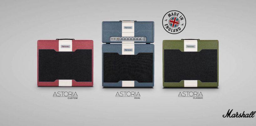 Proshows traz amplificadores Marshall Astoria Series