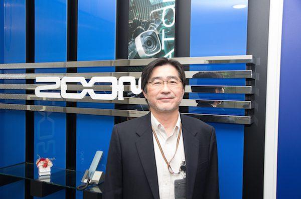 Masahiro Iijima, CEO da Zoom