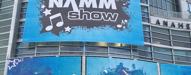NAMM Show 2016 recarregada!