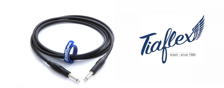 Tiaflex e o cabo de guitarra Instrument Cable 75 – IC75