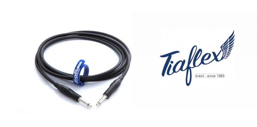 Tiaflex e o cabo de guitarra Instrument Cable 75 – IC75