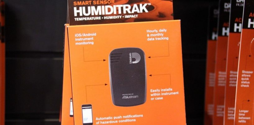 Sistema de monitoração de clima Humiditrak, da D'Addario, já está disponível