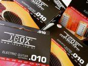 EAV010, encordoamento para violão aço da iBox