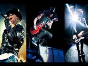 Setup: Equipamentos dos Guns N' Roses