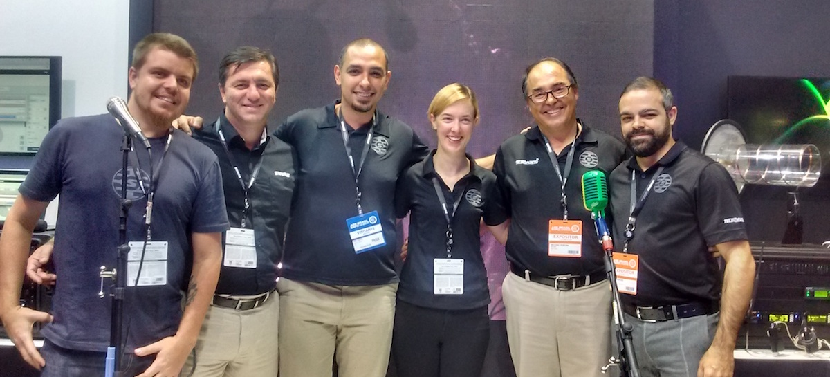 AES 2016: Shure faz apresentação inédita com seus dois distribuidores