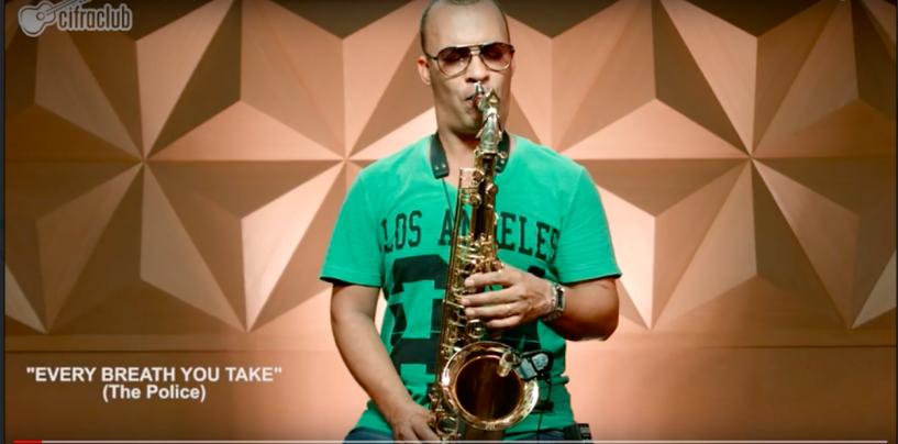 Eagle lança curso gratuito de saxofone em parceria com o Cifra Club