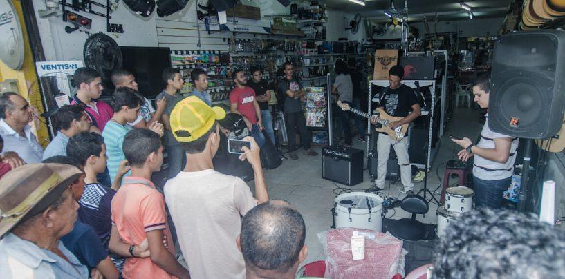 Workshop em Palmares para o Dia Nacional do Ensino da Música