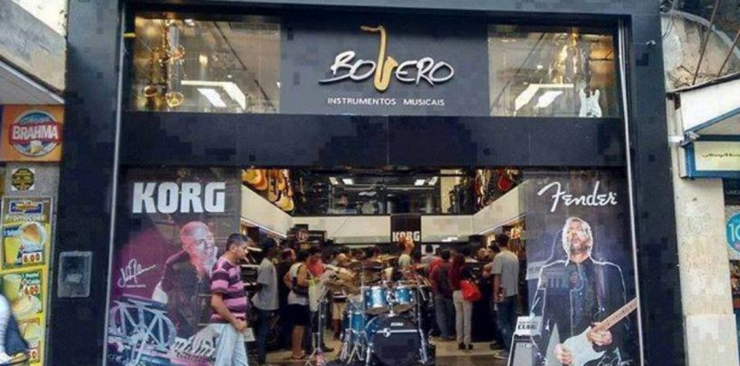 Três lojas com cheiro de música