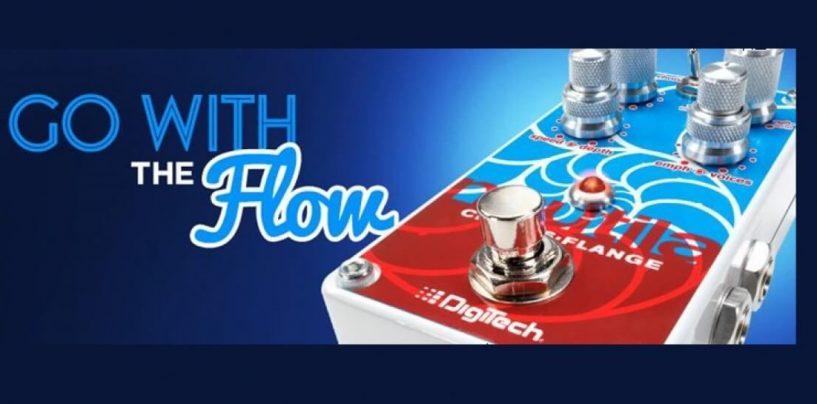Summer NAMM 2016: DigiTech apresenta o novo pedal Nautila