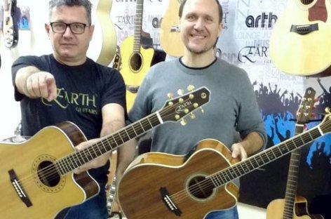 Earth Music reforça sua continuidade no mercado de instrumentos