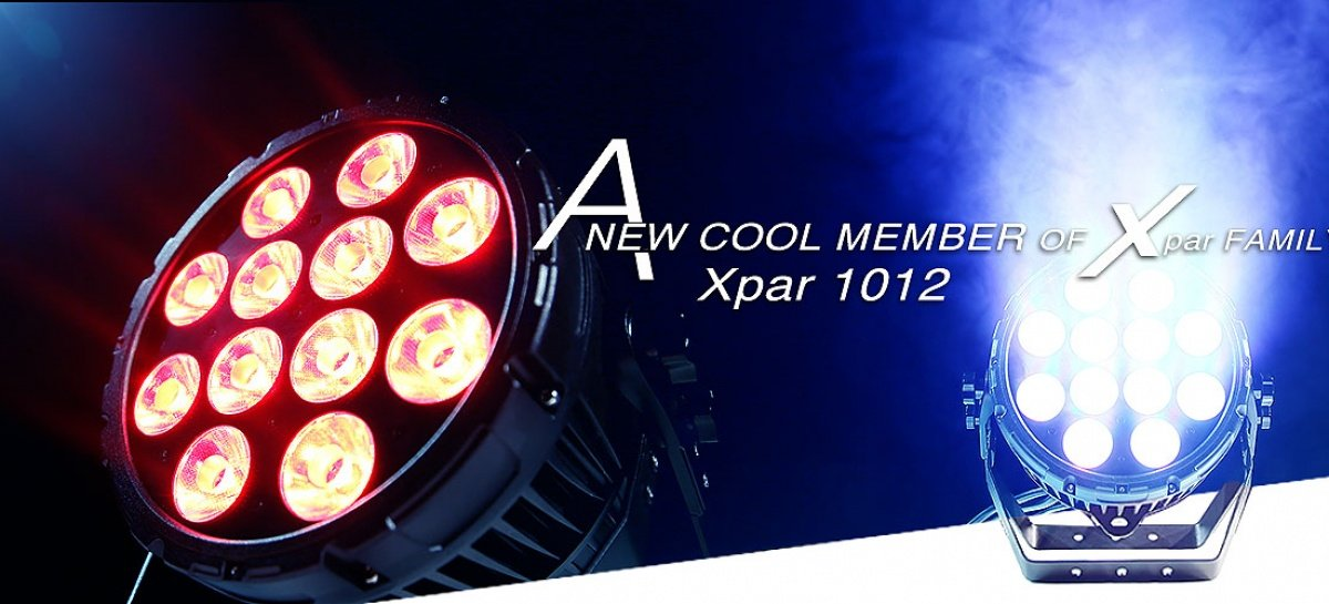 Xpar 1012 é o novo integrante da família da PR Lighting