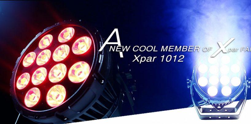 Xpar 1012 é o novo integrante da família da PR Lighting
