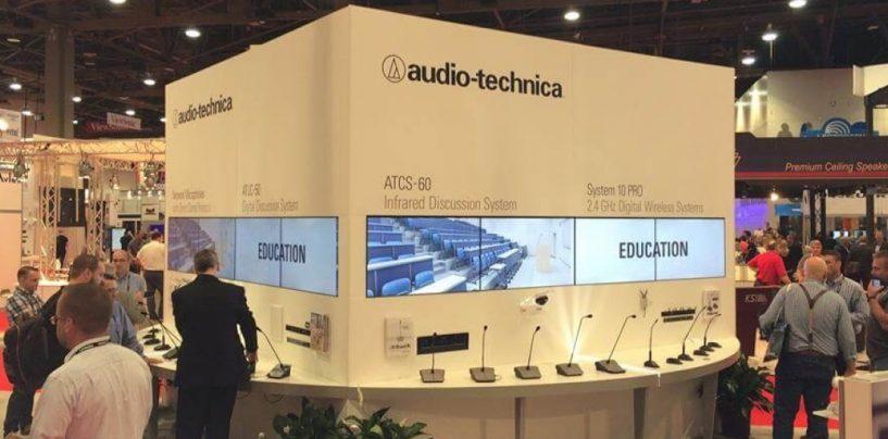Os microfones ATND931 e ATND933 da Audio-Technica agora têm Dante