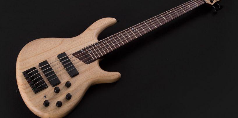 Cort Guitars apresenta o baixo B5 Plus AS atualizado