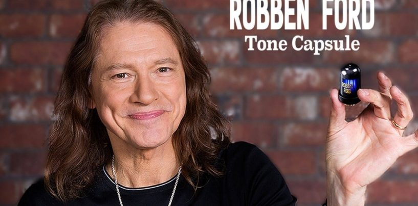 Roland apresenta o novo Robben Ford Tone Capsule BC TC-RF
