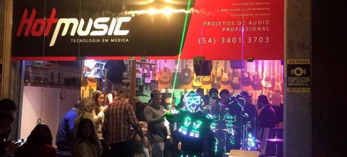 Hot Music inaugura loja em Farroupilha