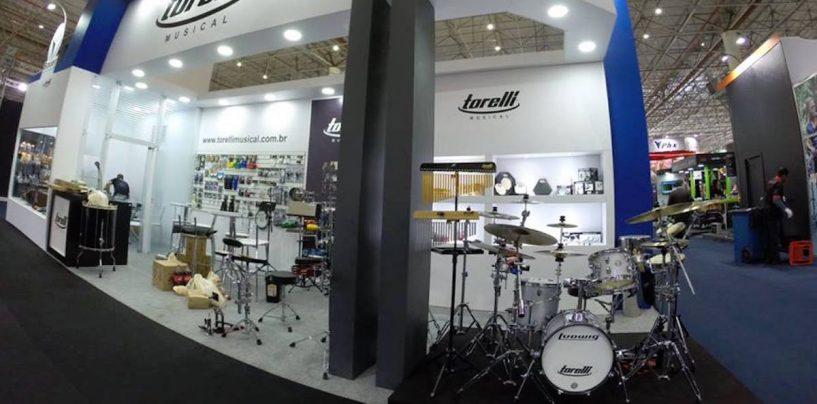 Expomusic: Torelli mostra ferragens de bateria da Bauer