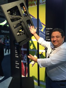 Diego Ojeda Jijón da d&b audiotechnik