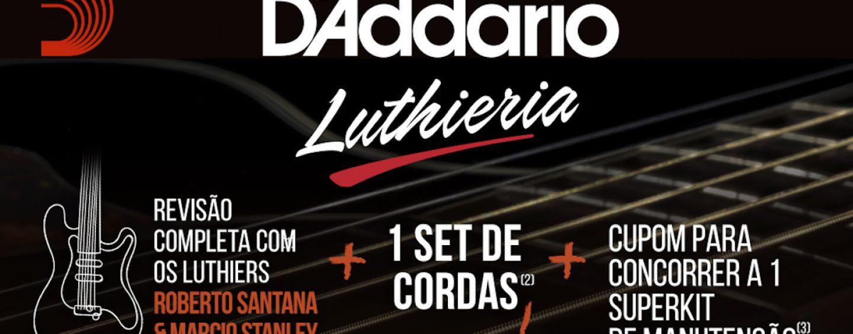 Expomusic: Troque suas cordas com a D'Addario no final de semana